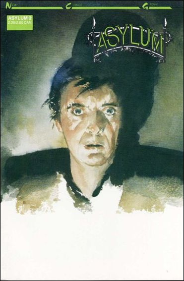 Asylum (1989) 2-A by New Comics Group