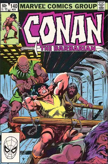 Conan the Barbarian (1970) 140-A by Marvel