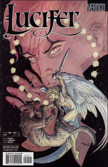 Lucifer (2000) 54-A by Vertigo