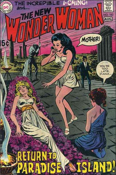 Wonder Woman (1942) 183-A by DC