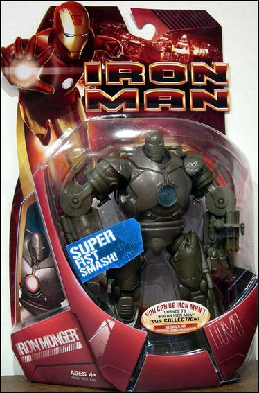Iron Man (Movie) Iron Monger (Blue Chestplate) by Hasbro