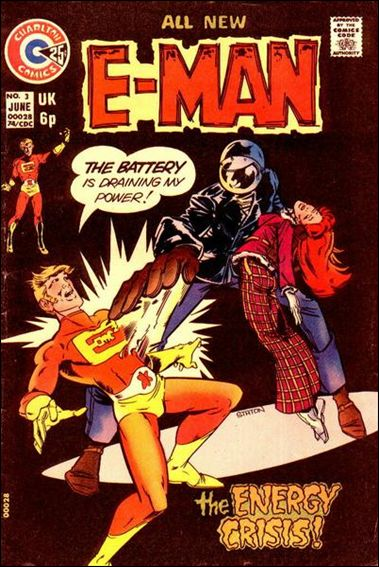 E-Man (1973) 3-A by Charlton