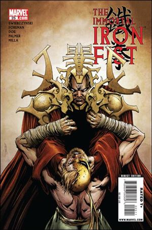 Immortal Iron Fist 25-A