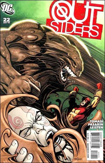 Outsiders (2009) 22-A by DC