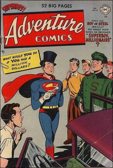 Adventure Comics (1938) 159-A by DC