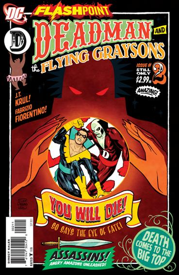 Flashpoint: Deadman & the Flying Graysons 2-A by DC