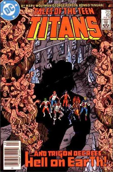 Tales of the Teen Titans 62-A by DC