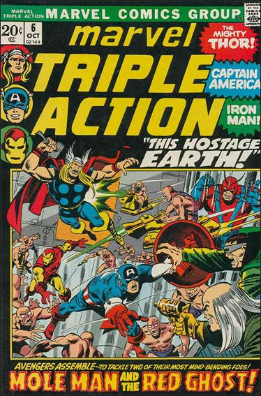 Marvel Triple Action (1972) 6-A by Marvel