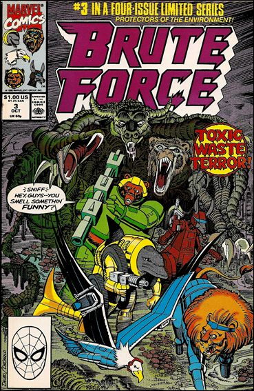 Brute Force 3-A by Marvel