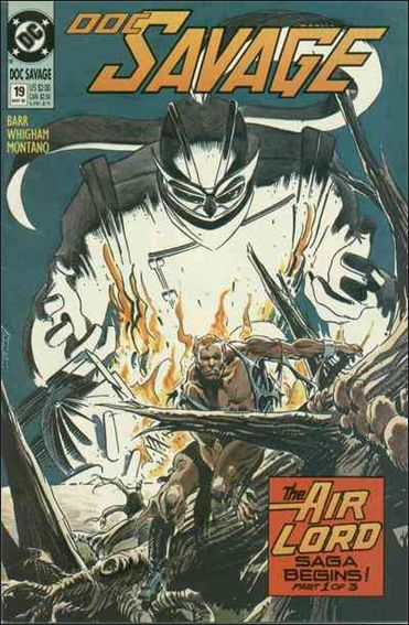 Doc Savage (1988) 19-A by DC