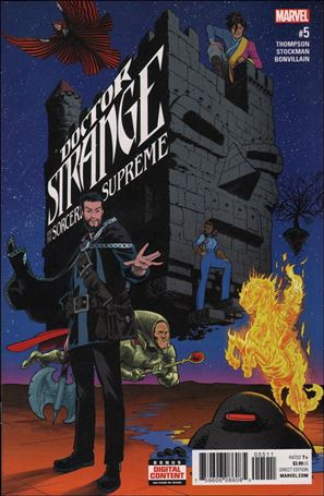 Doctor Strange and the Sorcerers Supreme 5-A