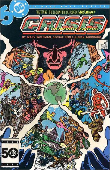 Crisis on Infinite Earths 3-A by DC