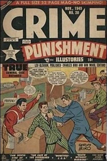 Crime and Punishment 20-A by Lev Gleason Productions