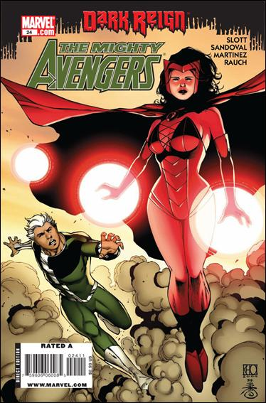 Mighty Avengers 24-A by Marvel