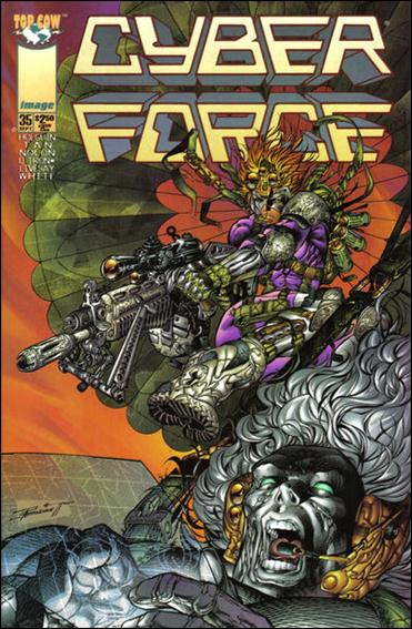 Cyberforce (1993) 35-A by Image