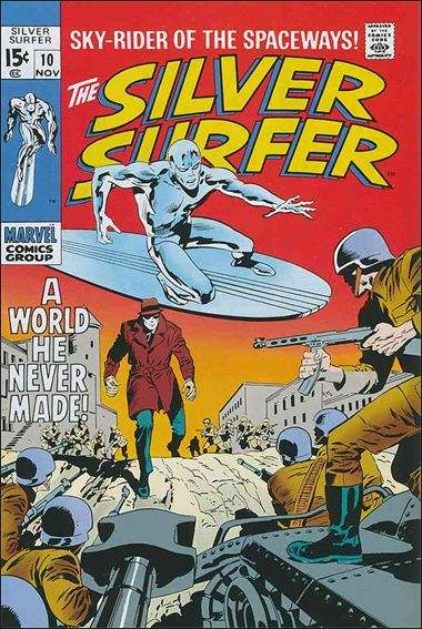 Silver Surfer (1968) 10-A by Marvel