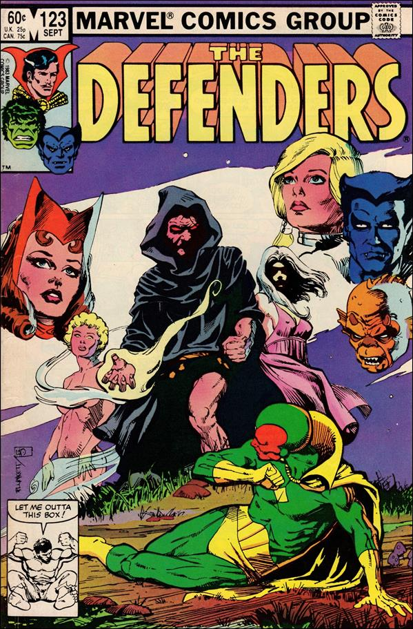 Defenders (1972) 123-A by Marvel