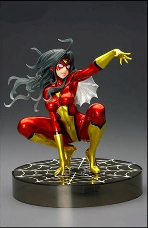 Marvel Bishoujo Statues Metallic Spider-Woman