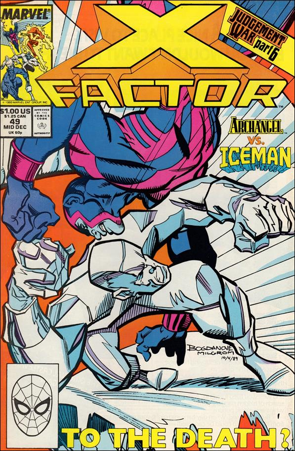 X-Factor (1986) 49-A by Marvel