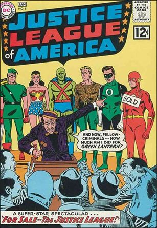 Justice League of America (1960) 8-A