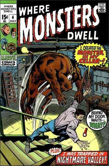 Where Monsters Dwell (1970) 4-A by Marvel