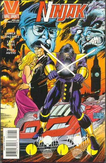 Ninjak (1994) 22-A by Valiant