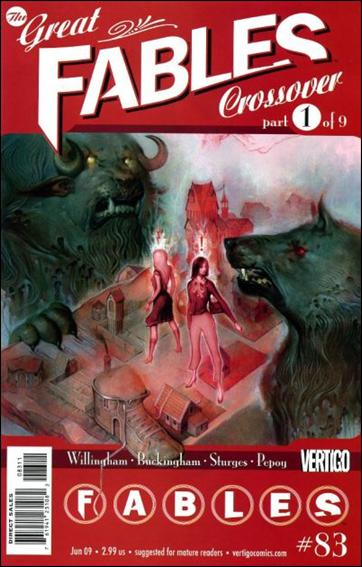Fables 83-A by Vertigo