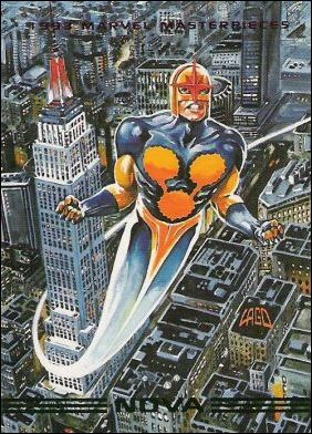 1993 Marvel Masterpieces (Base Set) 83-A by SkyBox