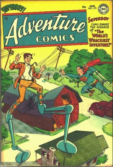 Adventure Comics (1938) 179-A by DC