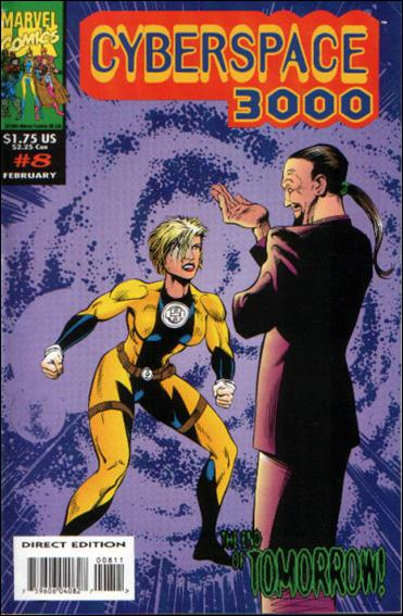 Cyberspace 3000 (UK) 8-A by Marvel UK