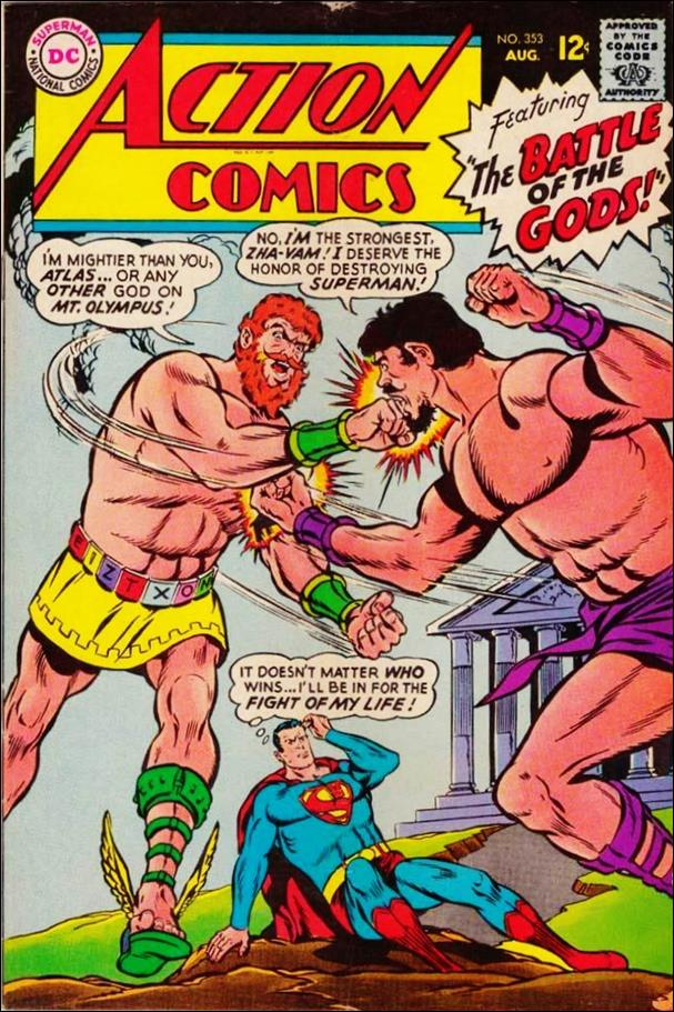 Action Comics (1938) 353-A by DC