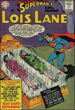Superman's Girl Friend Lois Lane 60-A by DC