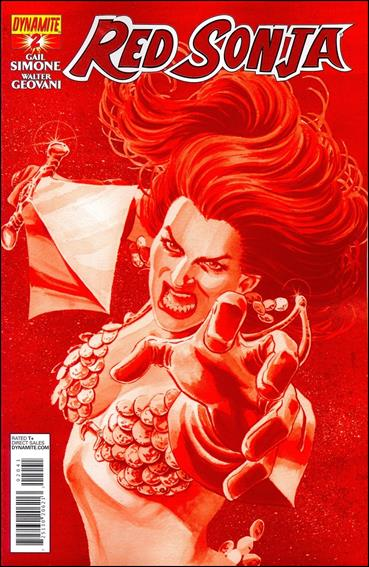 Red Sonja (2013) 2-E by Dynamite Entertainment