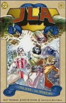 JLA: The Island of Dr. Moreau 1-A by DC