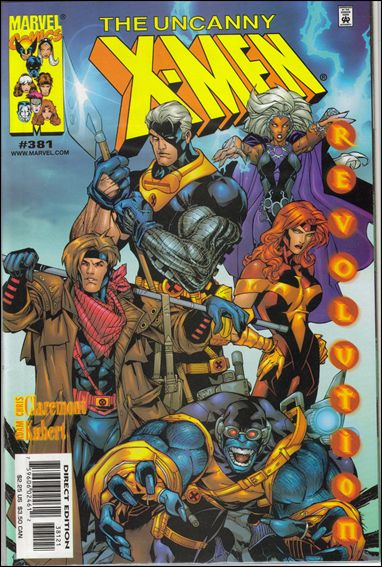 Uncanny X-Men (1981) 381-B by Marvel