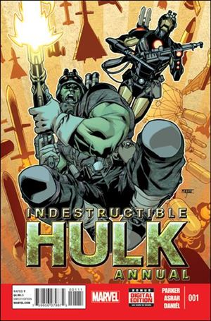 Indestructible Hulk Annual 1-A