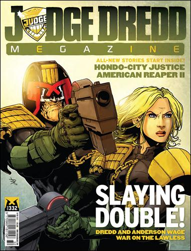Judge Dredd Megazine (2003) 332-A by Rebellion