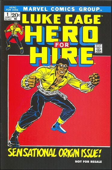 Hero for Hire 1-B by Marvel