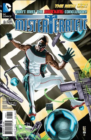 Mister Terrific 8-A by DC