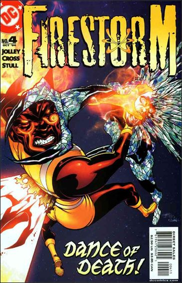 Firestorm (2004) 4-A by DC