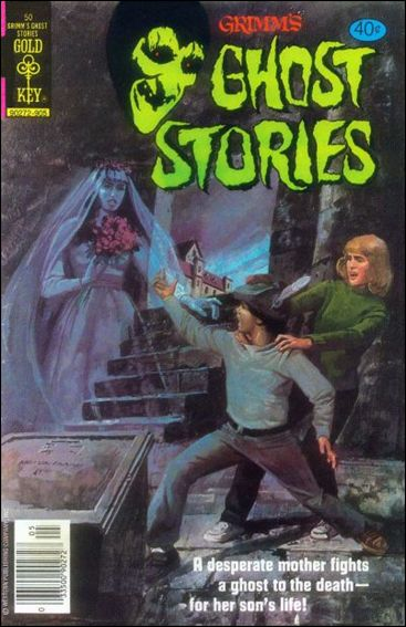 Grimm's Ghost Stories 50-A by Gold Key