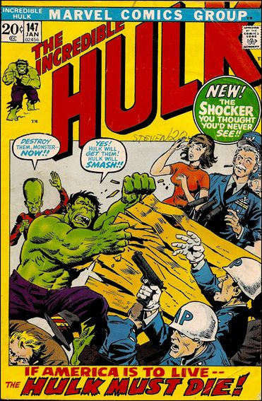Incredible Hulk (1968) 147-A by Marvel