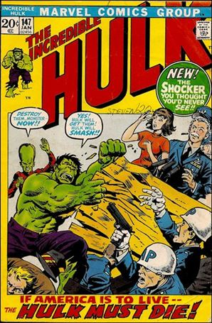 Incredible Hulk (1968) 147-A