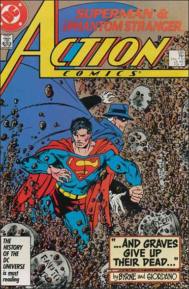 Action Comics (1938) 585-A by DC