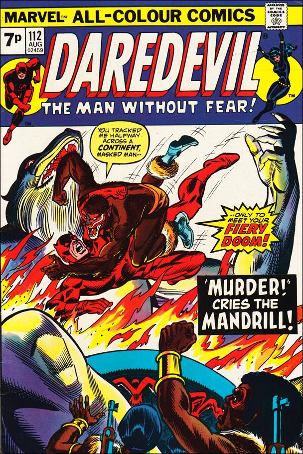 Daredevil (1964) 112-B by Marvel