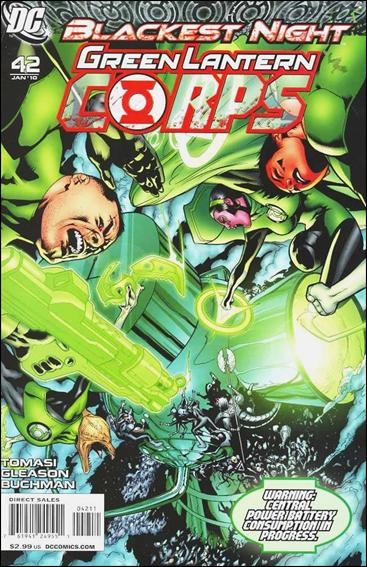 Green Lantern Corps (2006) 42-A by DC