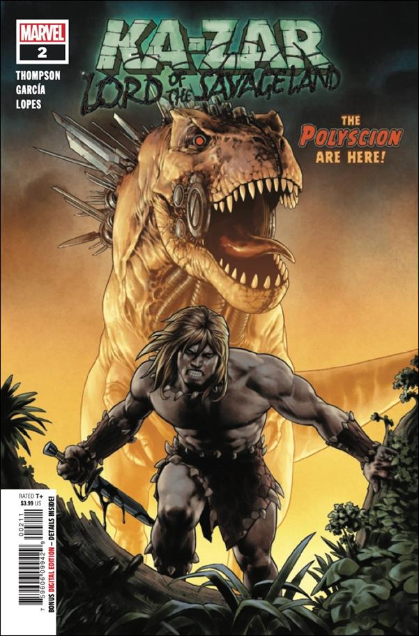 Ka-Zar: Lord of the Savage Land 2-A by Marvel