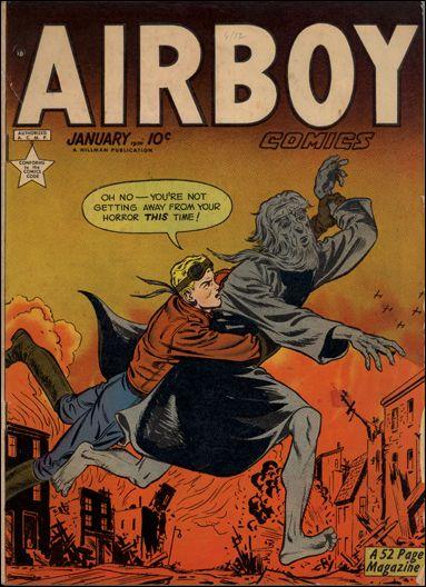 Airboy Comics (1949) 12-A by Hillman