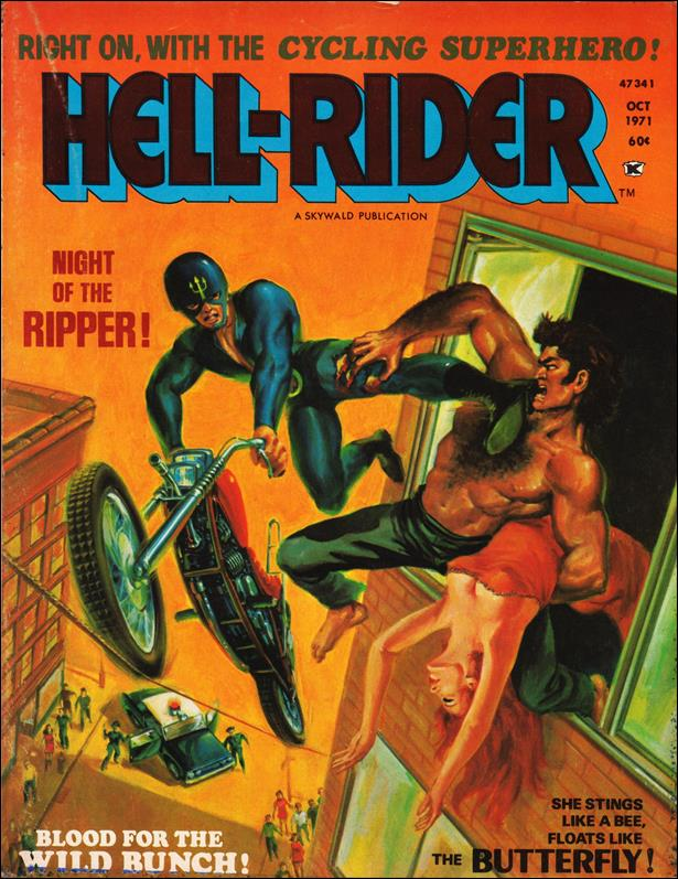 Hell-Rider 2-A by Skywald