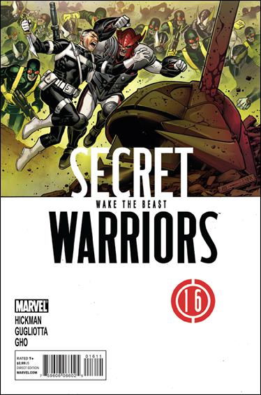 Secret Warriors (2009) 16-A by Marvel